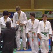 julien breton vice champion régional benjamins en -55kgs