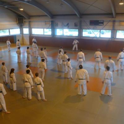 Stage de judo avec Kintaro Yamamoto avril 2015